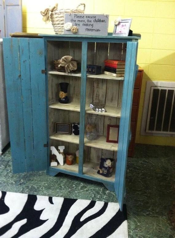 Reclaimed Solid Wood Pie Safe, Kitchen Pantry, Storage Cabinet, Bathroom  Cabinet, Kitchen Furniture, Hand Built, Handmade, Shabby Chic