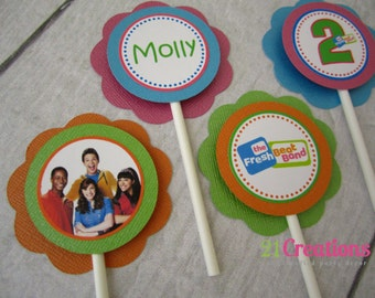 Fresh Beat Band Cupcake Toppers - set of 12