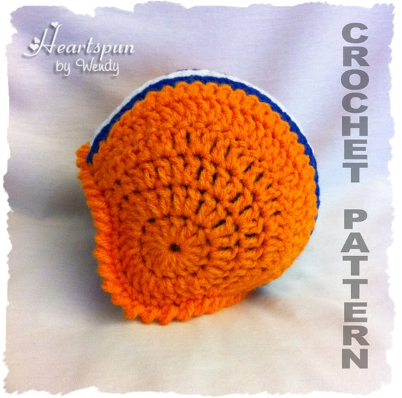 Crochet Pattern Baby Hat Free : CROCHET PATTERN to make a Football Helmet Baby by ...