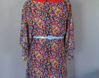 Size 8/10 Colorful Tunic dress.