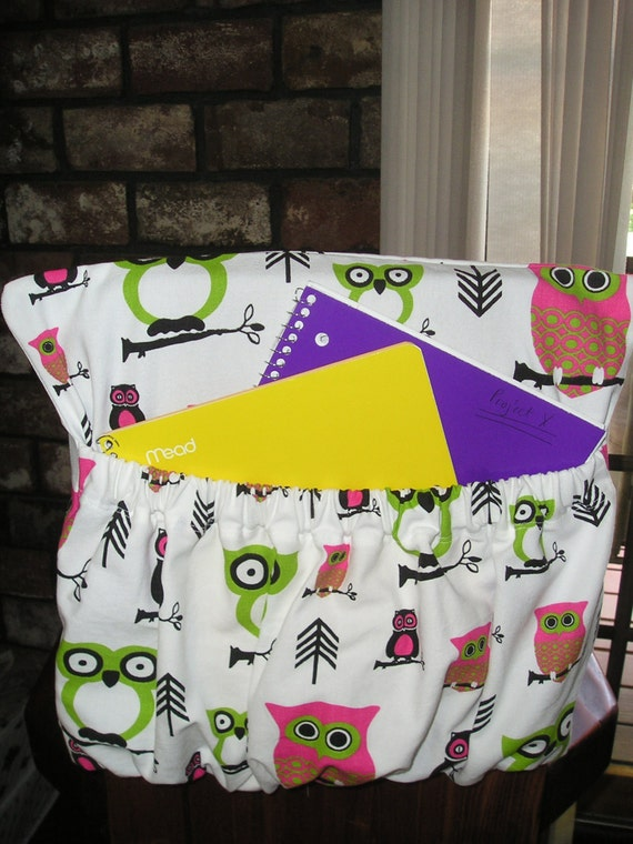 Hoot owl fabric kindergarten chair cover classroom chair
