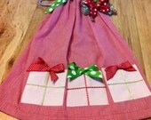 Pretty Package Christmas Dress With Bow