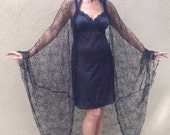 Spiderweb cocoon coat Halloween costume
