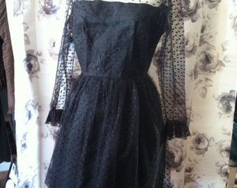 1950 Little Black Dress lace