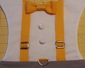 SUSPENDERS harness with bowtie - MEDIUM and LARGE size listing