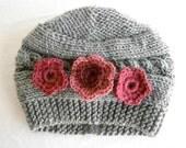 Baby Hat Flower, Newborn Baby Girl Hat, Newborn Hat Photo Prop Baby, Newborn  Hat