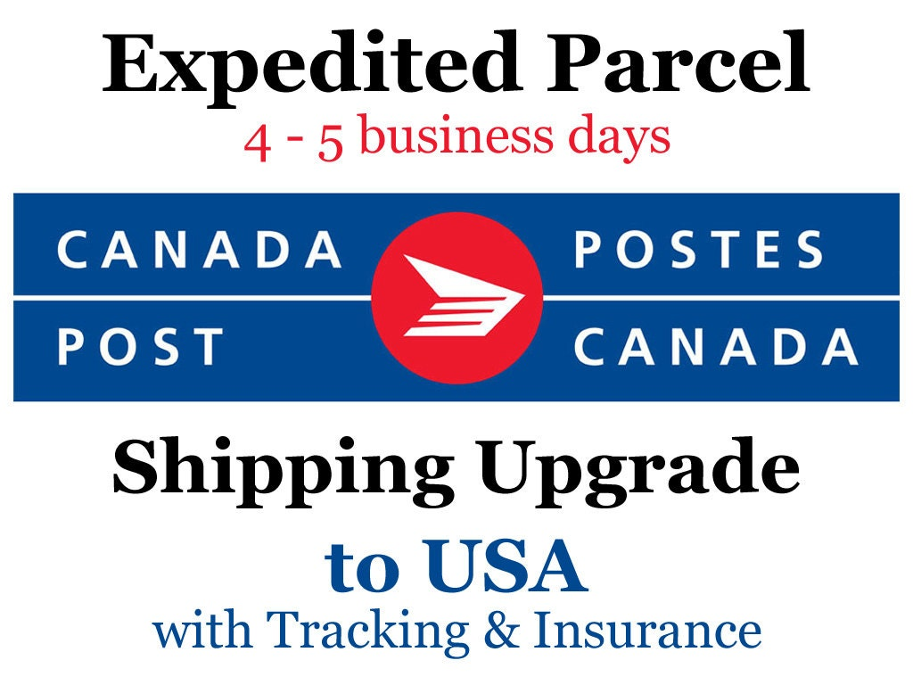 canada post delivery times of day shipping upgrade to usa expedited parcel 4 to 5 day 24226 | il fullxfull.535810665 cwto