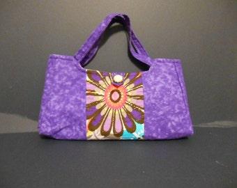 Purple Fusion Handbag, Purse, arm bag