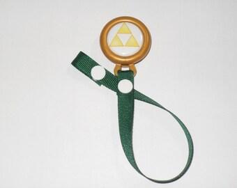 Zelda Pacifier Clip