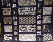 Handmade Ultimate Man Quilt Twin Size