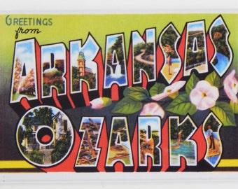 Greetings from Arkansas Ozarks Fridge Magnet