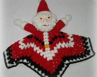 Santa Claus Lovey Crochet Pattern