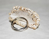 Sterling Silver Puzzle Ring - Custom Size
