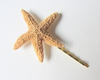 Starfish Hair Pins - Beach Wedding Hair Accessory - Sugar Starfish Hair Pins - REAL Starfish - Mermaid Hair Accessory