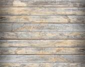 NEW DESIGN 6ft x 6ft Vinyl Photography Backdrop / Timeworn Gray Floor