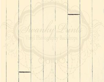 SWANKY PRINTS ORIGINAL 5ft x 6ft Vinyl Photography Backdrop / Butter Wood