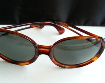 1960s Marbled Mod Grants of Italy Sunglasses