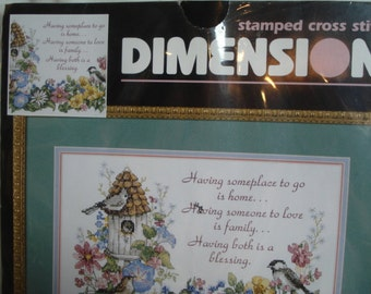 Gorgeous Dimensions Stamped Cross Stitch Kit