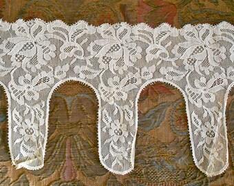 1920's Fine Ecru Lace