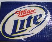 Miller Lite Logo Duct Tape Wallet