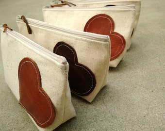 Set of 8 - Leather Bridesmaid Clutches Rustic Country Wedding Clutch Purses Rustic Wedding Gift Ideas Bridesmaid Gifts