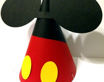 Mickey Mouse Inspired Party Hat