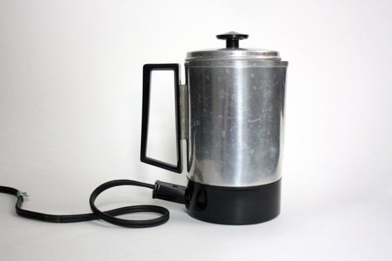 Travel Coffee Maker Kit : Items similar to Travel Coffee - Tea Percolator // Travel Coffee - Tea Kit // Coffee - Tea Maker ...