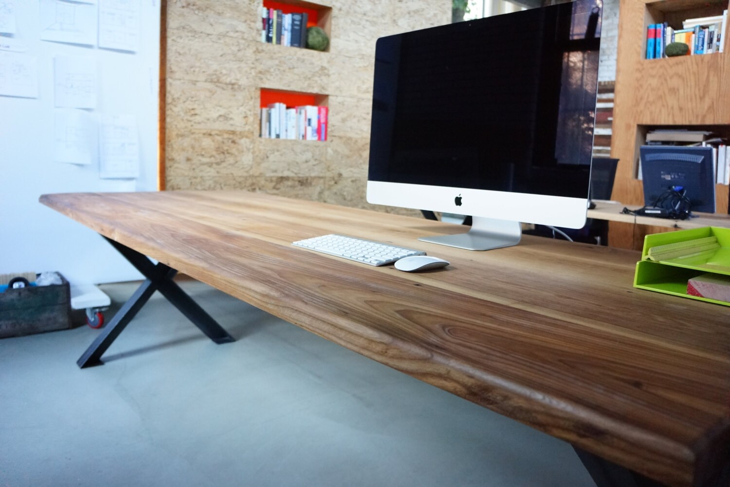 Reclaimed wood conference tables -  Zoom