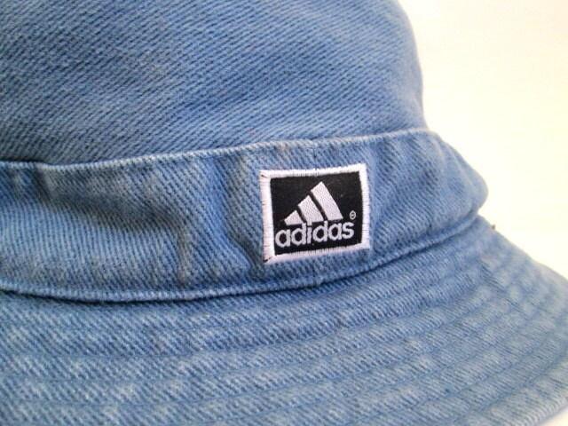 Club Kid 90s Adidas Denim Bucket Hat
