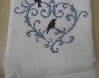 Love Birds Towel - EXTRA STOCK