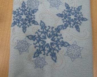 Winter Snowflakes Towel - EXTRA STOCK