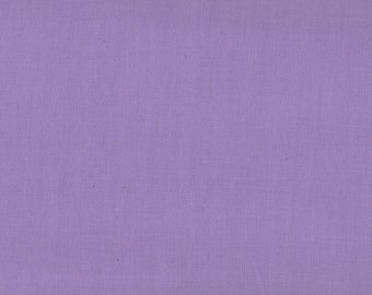 Solid Purple Fabric, Kona Cotton Solids by Robert Kaufman, Light Purple Fabric, Lilac, 03019