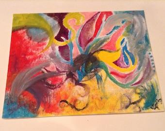 Pride and Joy Flat Canvas Original Painting