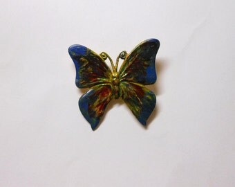 Butterfly Brooch-Multi-Colored-Variety of Colors