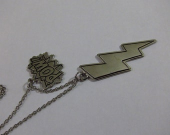 Vintage DC Comic POW BATMAN Necklace
