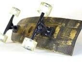 Bourbon Barrel Skateboard (Longboard, Cruiser, Deck, Trucks and Wheels)