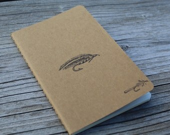 Mini Fly Fishing Mens Gift  Journal