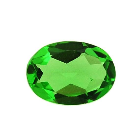 0 60 ct tsavorite mint green garnet gemstone faceted by