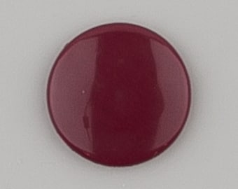 G75 F Burgundy for Cloth Diapers/Bibs/Crafts/Plastic Snap Buttons Red Brown
