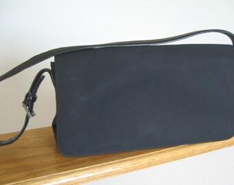 Vintage Coach purse.  Shoulder bag. Black. Authentic Coach.