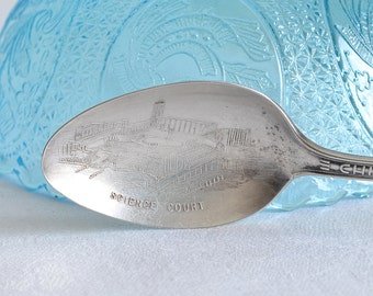 Science court spoon ,  Chicago 1933 a century of progress, souvenir spoon