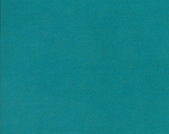 Turquoise Linen - Mochi Solids by Momo for Moda Fabrics  - 1/2 Yard