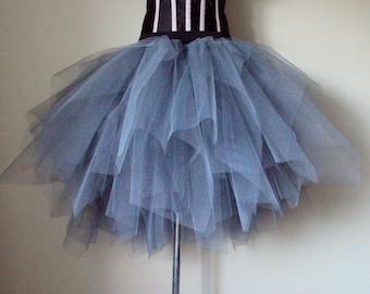 Stunning Grey TuTu skirt size small U.S. 4 - 10  U.K 6 -12