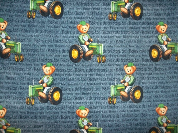 John Deere Teddy Bears : John deere teddy bear tractor bears ride by