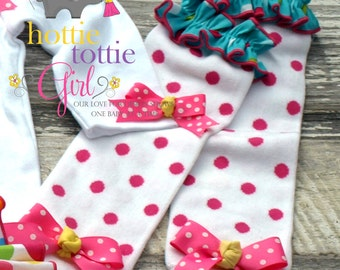 Lalaloopsy Leg Warmers Matching our Ruffle Bloomer Skirt Sets, Baby Ruffle Butts, Diaper Cover Newborn to Toddler Bloomers HB3462
