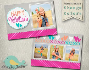 Valentines Photography Templates - Valentine Card 19