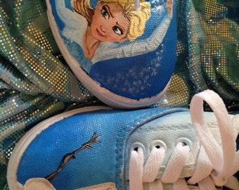 Frozen themed sneakers