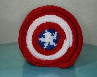 Captain America Roll Up Scarf