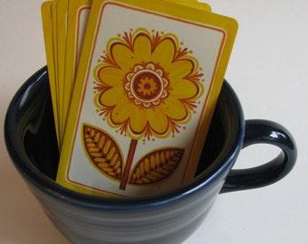 Sunflower Playing Cards- Set of 6
