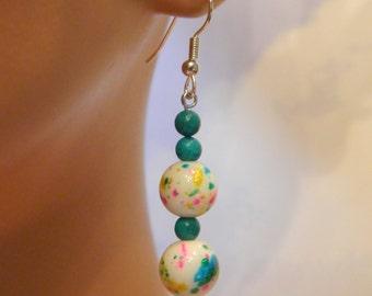 Pretty Confetti Drop Earrings
